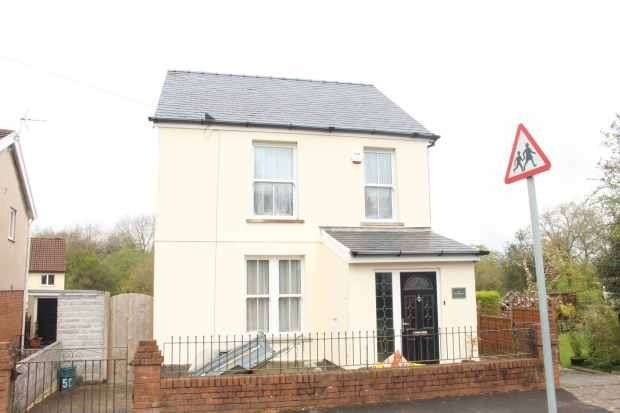 3 Bedrooms Detached House for sale in Brithwen Road, Swansea, West Glamorgan, SA5 4QS