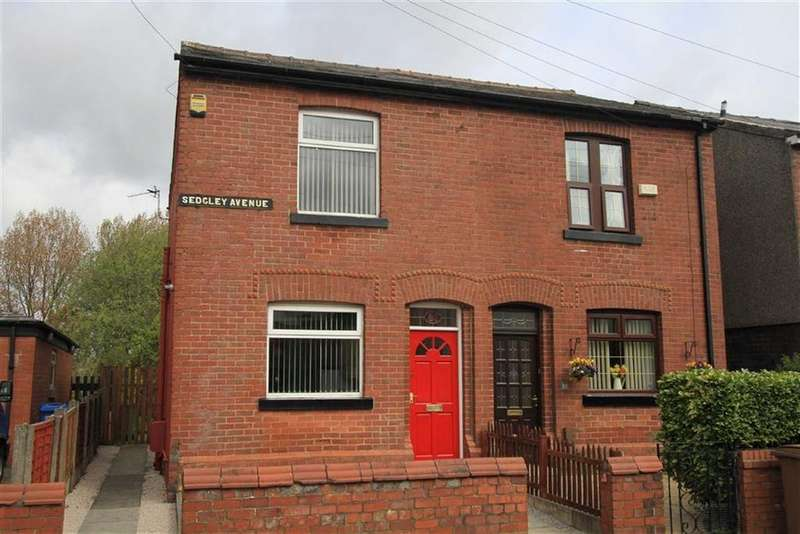 2 Bedrooms Semi Detached House for sale in 81, Sedgley Avenue, Buersil, Rochdale, OL16