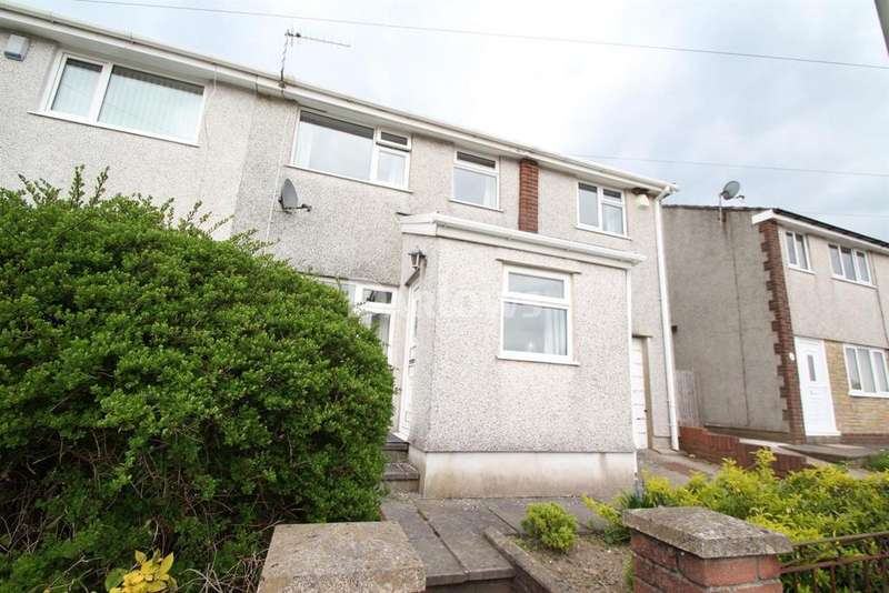 3 Bedrooms Semi Detached House for sale in Maes-Y-Dderwen, Penpedairheol