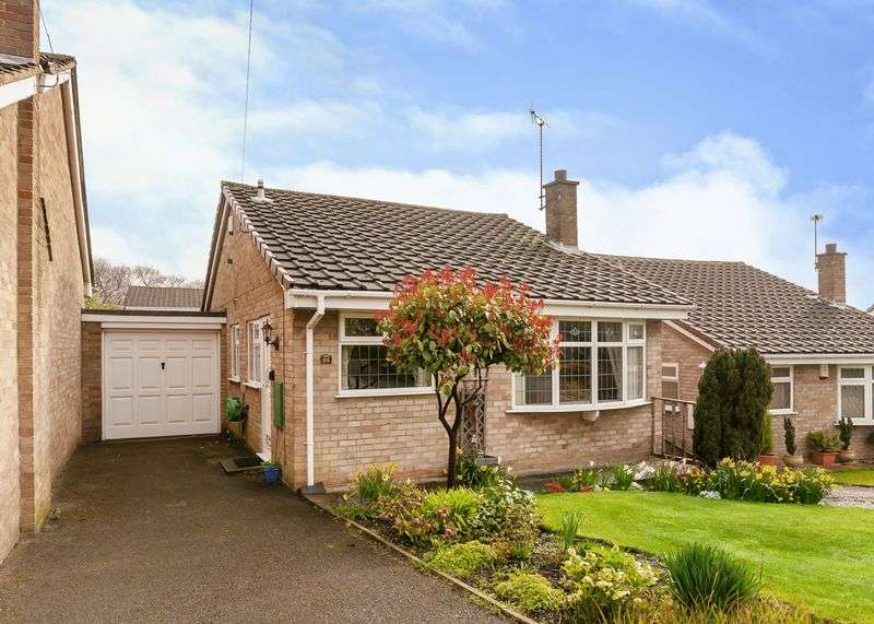 2 Bedrooms Detached Bungalow for sale in Oakland Crescent, Alfreton