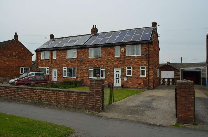 3 Bedrooms Semi Detached House for sale in Hawling Road, Market Weighton
