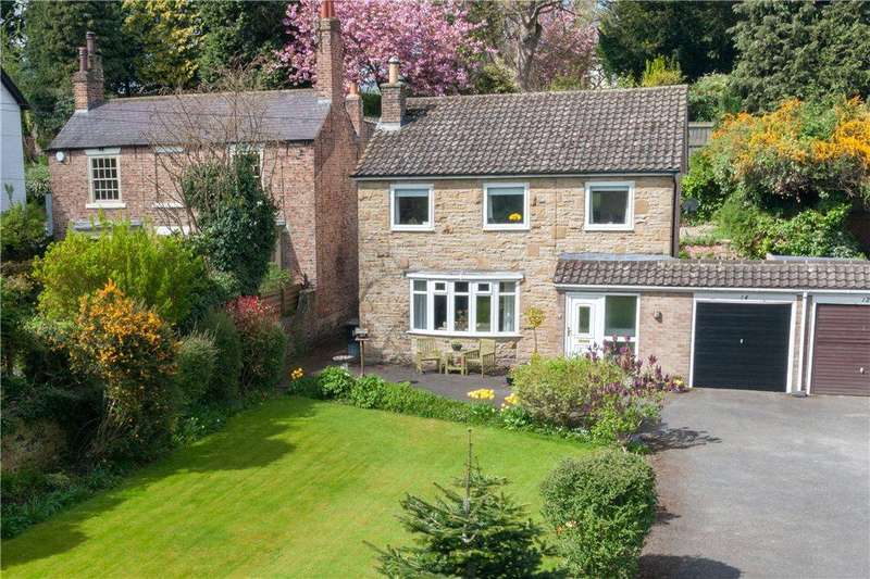 4 Bedrooms Link Detached House for sale in Skellbank, Ripon, North Yorkshire