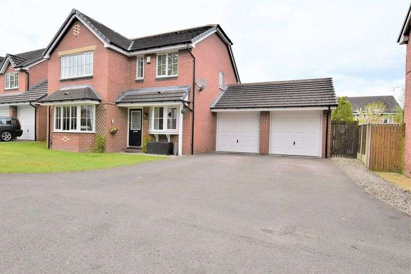 4 Bedrooms Detached House for sale in Woburn Drive, Mossley, Congleton