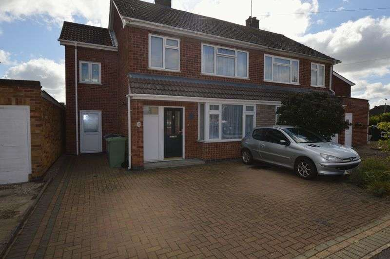 4 Bedrooms Semi Detached House for sale in Brooke Avenue, Stamford