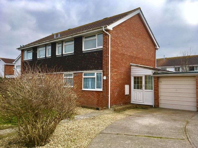 3 Bedrooms Semi Detached House for sale in Starling Close, Worle, Weston-super-Mare