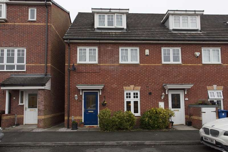 3 Bedrooms Town House for sale in Abbeyfield Close, Stockport, Cheshire, SK3
