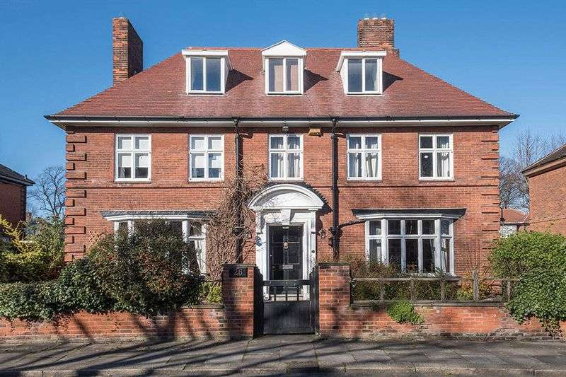 7 Bedrooms Detached House for sale in The Deanery, Mitchell Avenue, Jesmond