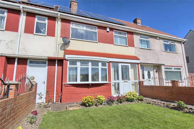 3 Bedrooms Terraced House for sale in Raglan Terrace, Billingham
