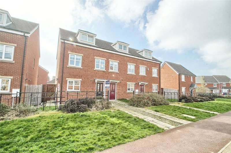 3 Bedrooms End Of Terrace House for sale in Sargasso Walk, Thornaby