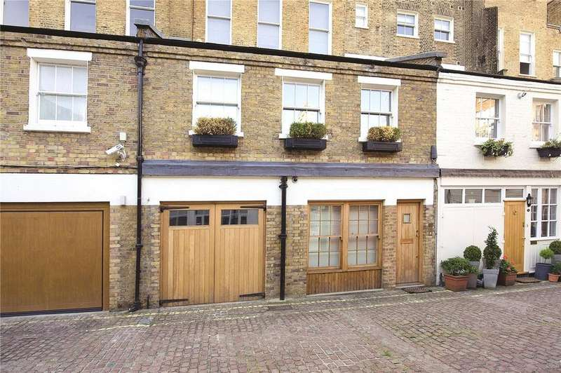 2 Bedrooms House for sale in Lancaster Mews, Lancaster Gate, London, W2