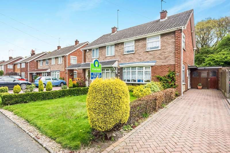 3 Bedrooms Semi Detached House for sale in Linden Lane, Willenhall, WV12