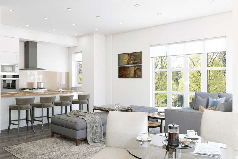 2 Bedrooms Apartment Flat for sale in HENDON PARK VIEW, Great North Way, HENDON, LONDON, NW4