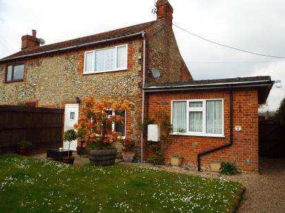 3 Bedrooms Semi Detached House for sale in Briston, Melton Constable, Norfolk