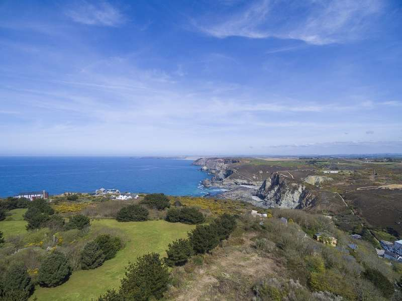5 Bedrooms Detached House for sale in Rocky Lane, St. Agnes, Cornwall