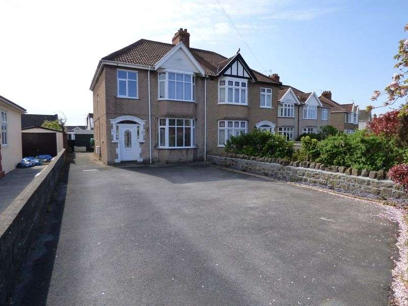 3 Bedrooms Semi Detached House for sale in Locking Road, Weston-Super-Mare