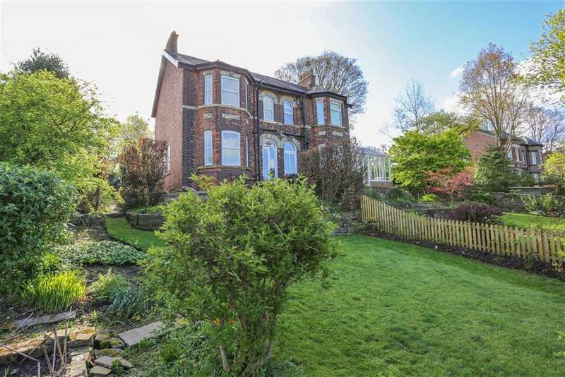 3 Bedrooms Semi Detached House for sale in Waterside, Marple, Cheshire