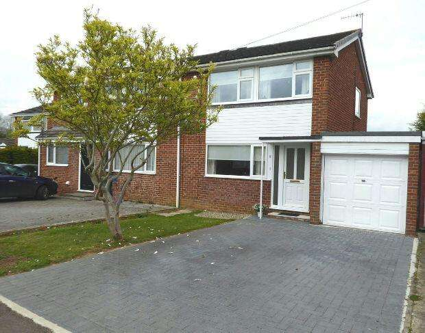 3 Bedrooms Semi Detached House for sale in Masefield Road, Banbury