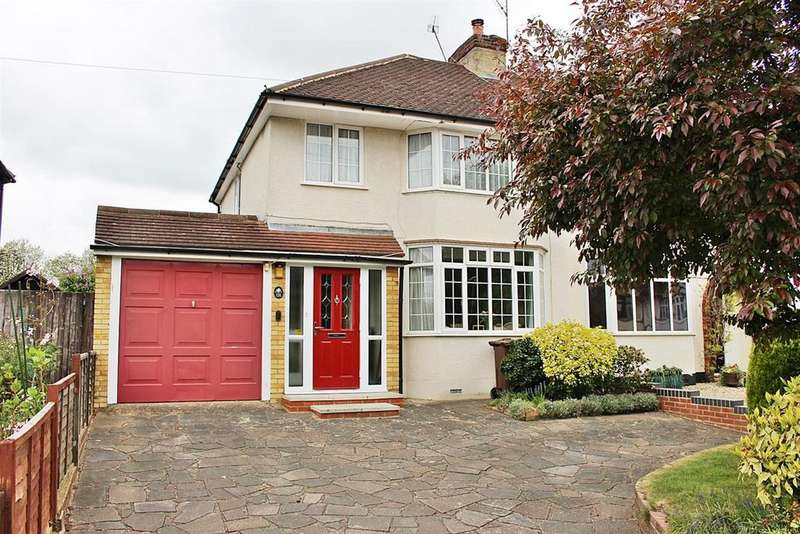 3 Bedrooms Semi Detached House for sale in Gurney Court Road, St. Albans