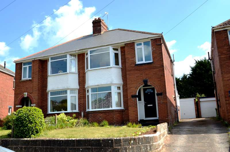 3 Bedrooms Semi Detached House for sale in EXETER