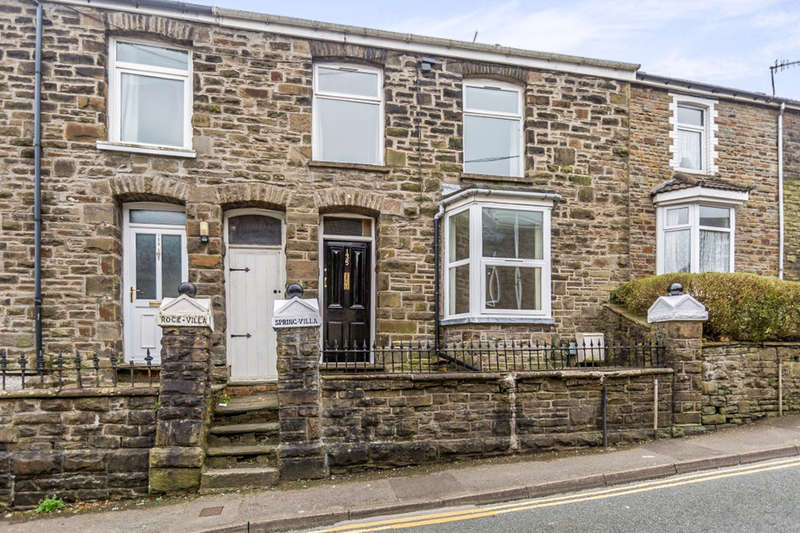 3 Bedrooms Terraced House for sale in Wood Road, Pontypridd