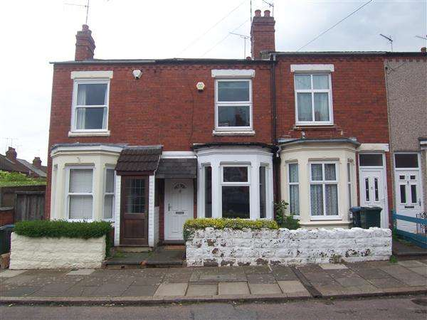 2 Bedrooms Terraced House for sale in Ludlow Road, Coventry