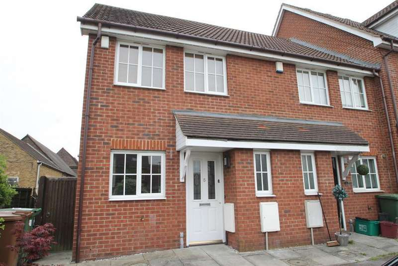 2 Bedrooms End Of Terrace House for sale in Wheelock Close, Erith, Kent, DA8 1NH
