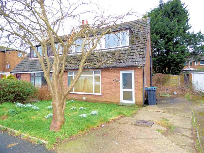 2 Bedrooms Semi Detached Bungalow for sale in Bleasdale Avenue, Staining, Blackpool