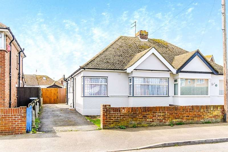 2 Bedrooms Semi Detached Bungalow for sale in St. James Avenue, Ramsgate, CT12