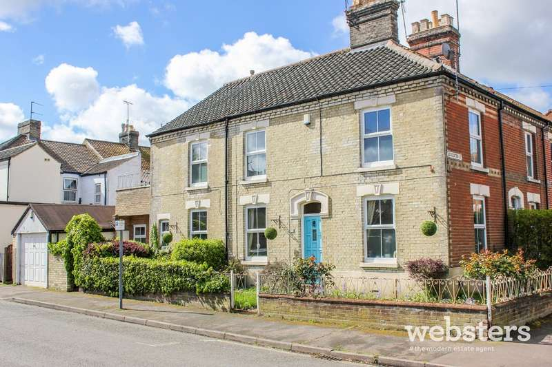 3 Bedrooms End Of Terrace House for sale in Gloucester Street, Norwich, NR2