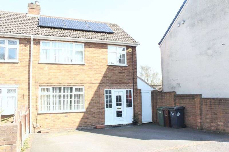 3 Bedrooms Semi Detached House for sale in Rookery Road, Wolverhampton