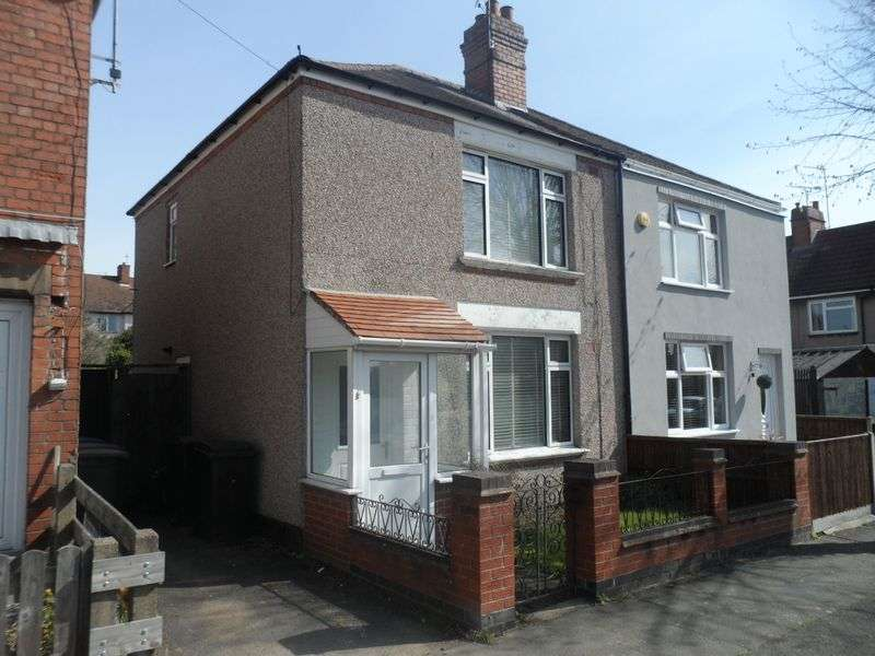 2 Bedrooms Semi Detached House for sale in Poole Road, Radford, Coventry, CV6 1HU