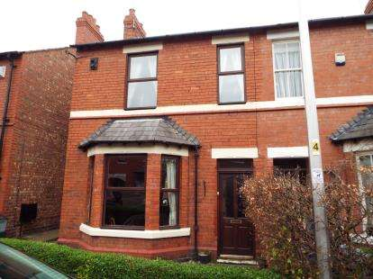 3 Bedrooms Semi Detached House for sale in Kingsley Road, Boughton, Cheshire, CH3
