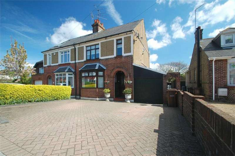 4 Bedrooms Semi Detached House for sale in Edwin Road, Rainham, Kent