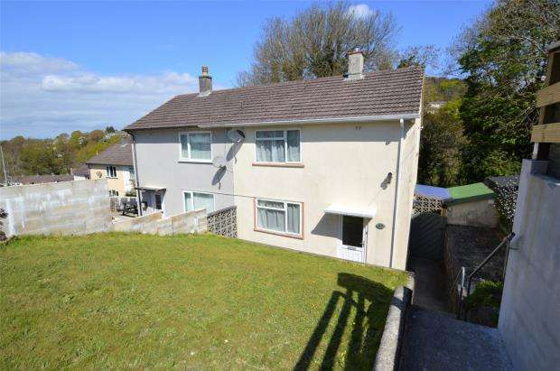 2 Bedrooms Semi Detached House for sale in Frontfield Crescent, Plymouth, Devon