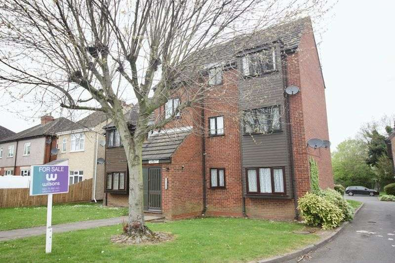 2 Bedrooms Flat for sale in St James Court, Willenhall, Coventry