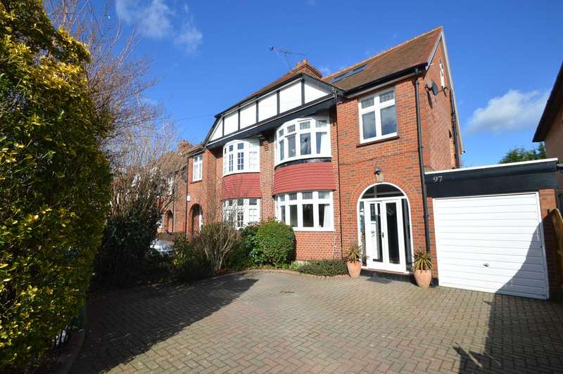 4 Bedrooms Semi Detached House for sale in Sidney Road, WALTON ON THAMES KT12