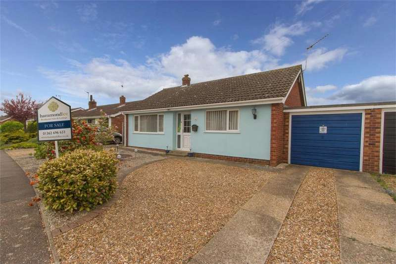 2 Bedrooms Detached Bungalow for sale in Bakery Lane, Lyng, Norfolk
