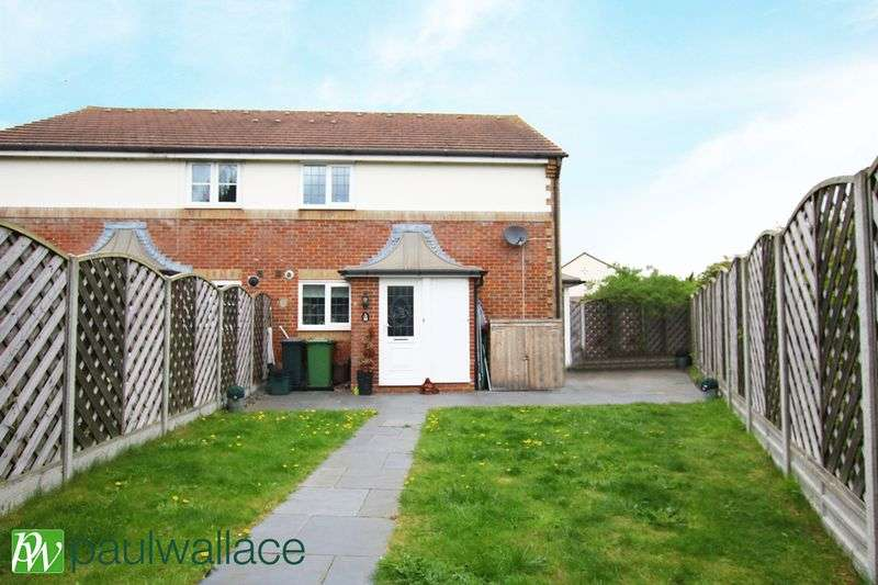 2 Bedrooms Semi Detached House for sale in Isabel Gate, Cheshunt