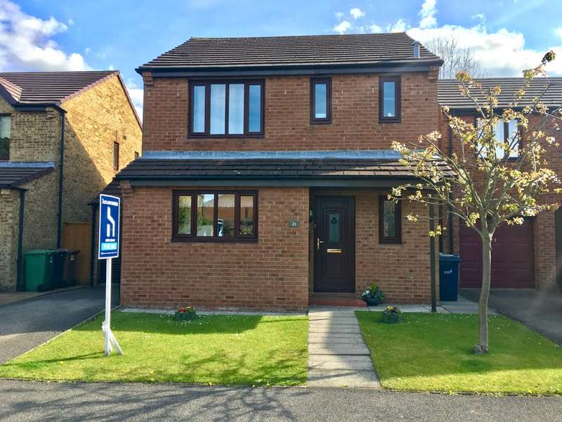 3 Bedrooms Detached House for sale in Harthope close, Rickleton, Tyne and Wear, NE38