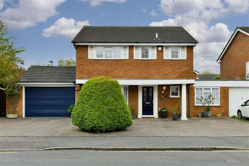 4 Bedrooms Link Detached House for sale in Court Drive, Sutton, Surrey