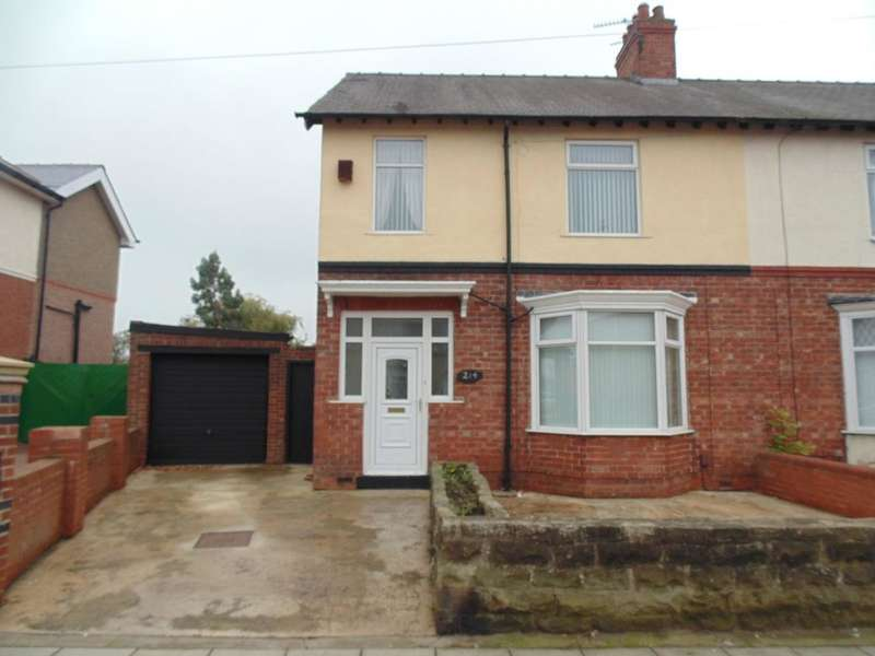3 Bedrooms Semi Detached House for rent in Yarm Road, Darlington, DL1