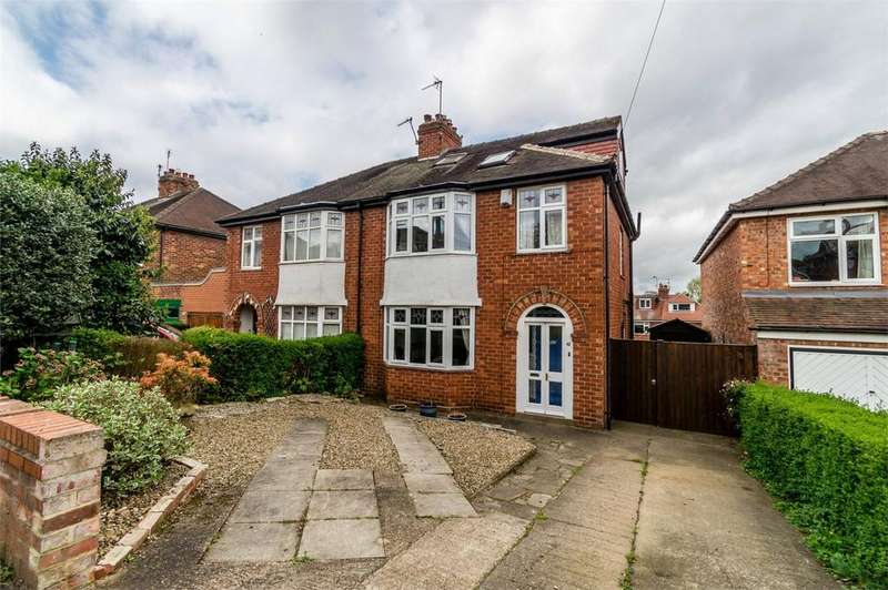 4 Bedrooms Semi Detached House for sale in Rosedale Avenue, Acomb, YORK