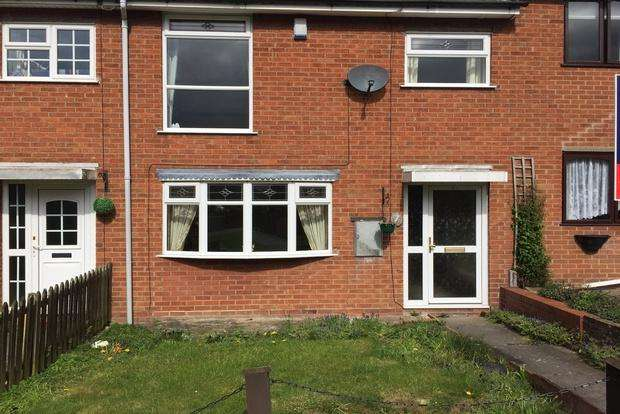 3 Bedrooms Terraced House for sale in Ash Close, Ratby, Leicester, LE6