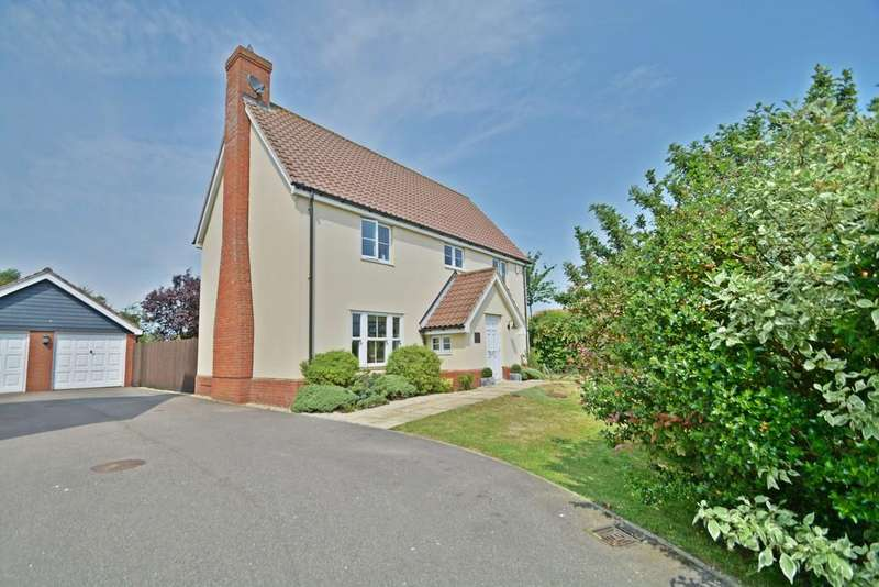 4 Bedrooms Detached House for sale in Mill Close, Wortham