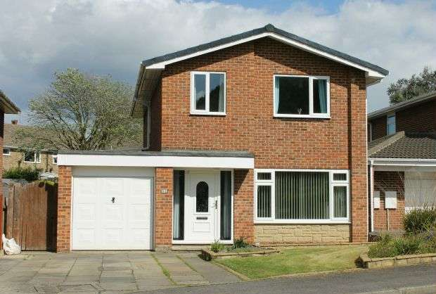 4 Bedrooms Detached House for sale in Brocklesby Road, Hunters Hill, Guisborough