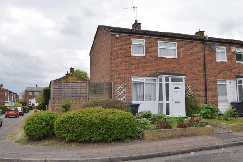 2 Bedrooms End Of Terrace House for sale in Altham Grove, Harlow, Essex, CM20 2PN