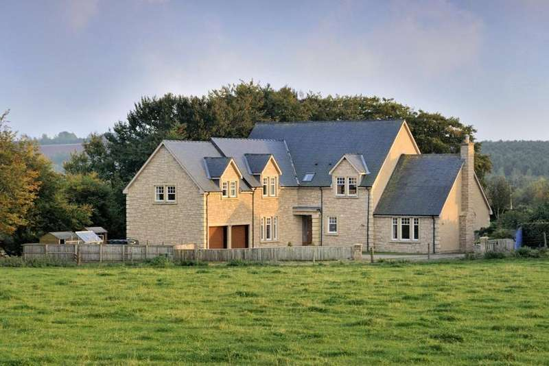 6 Bedrooms Detached House for sale in Macksmill, Gordon, Scottish Borders, TD3
