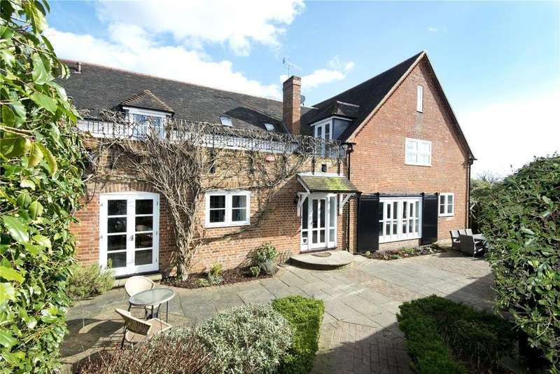 4 Bedrooms Semi Detached House for sale in Horns Lodge Farm, Horns Lodge, Shipbourne Road, Tonbridge, TN11