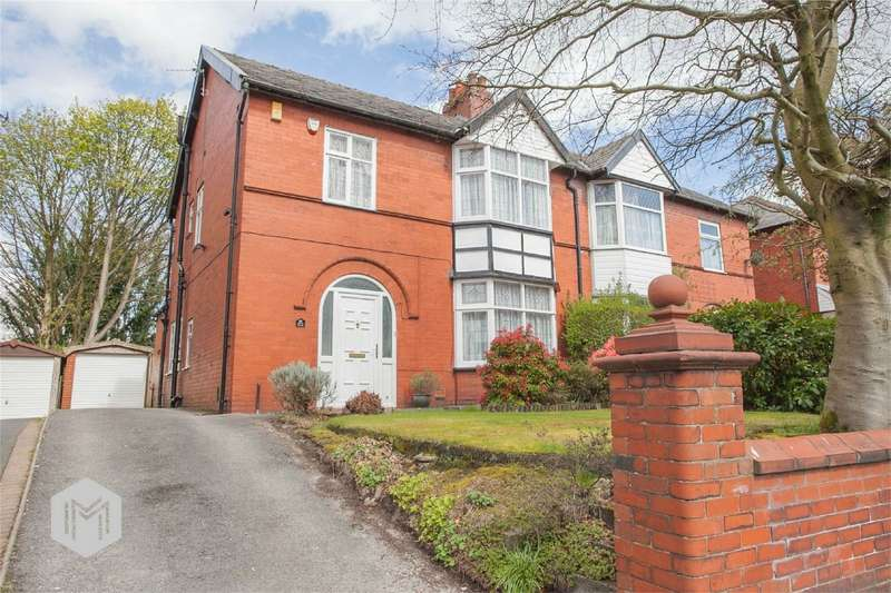 3 Bedrooms Semi Detached House for sale in Chorley Old Road, Heaton, Bolton, Lancashire