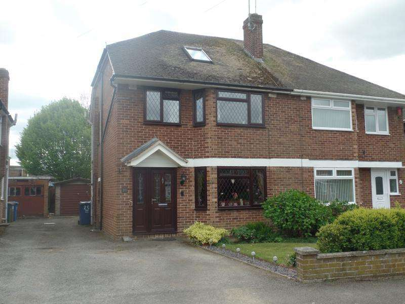 4 Bedrooms Semi Detached House for sale in Grimsbury Drive, BANBURY, OX16